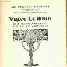 Libros antiguos: VIGÉE LE BRUN. PARÍS. PIERRE LAFITTE ET CIE. EDITEURS, S.F. (C. 1930 ?). FRANCÉS. Lote 24037697