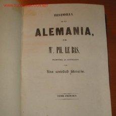 Libros antiguos: HISTORIA DE ALEMANIA. 1.841. Lote 26791191