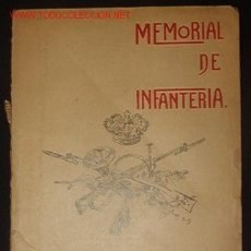 Libros antiguos: MANUAL DE INFANTERIA, TOMO XIV, Nº 79, 160 PAG.. Lote 6595852