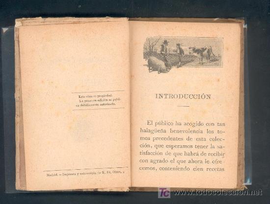 Libros antiguos: 100 MODOS DIVERSOS DE ALIÑAR LA CARNE DE VACA. MADEMOISELLE ROSE. CALLEJA - Foto 4 - 27014963