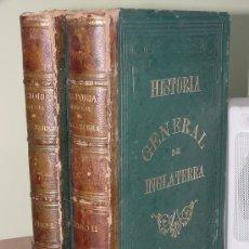 Libros antiguos: 1878.- HISTORIA GENERAL DE INGLATERRA. DAVID HUME. ¡¡IMPRESIONANTE OBRA!!. Lote 26445627