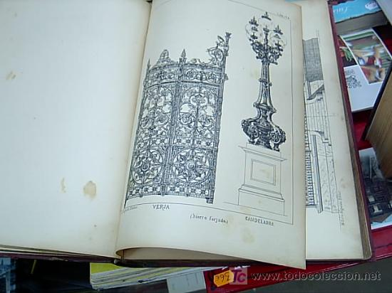 Libros antiguos: EL CERRAJERO MODERNO - TRATADO TEORICO Y PRACTICO DE CERRAJERIA Y FUNDICION - 1886?--SIN GASTOS ENVI - Foto 4 - 9346467