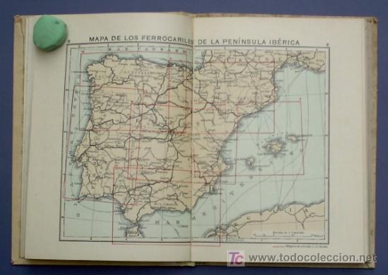 Libros antiguos: ATLAS GEOGRAFICO Y ESTADISTICO DE ESPAÑA Y PORTUGAL. CON PLANOS DE CIUDADES. LIB MOLINS, BCN, 1936 - Foto 4 - 21611766