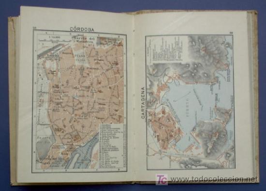 Libros antiguos: ATLAS GEOGRAFICO Y ESTADISTICO DE ESPAÑA Y PORTUGAL. CON PLANOS DE CIUDADES. LIB MOLINS, BCN, 1936 - Foto 6 - 21611766