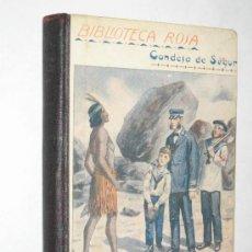 Libros antiguos: LAS VACACIONES, POR LA SRA. CONDESA DE SEGUR. 1920. BIBLIOTECA ROSA.. Lote 24793635