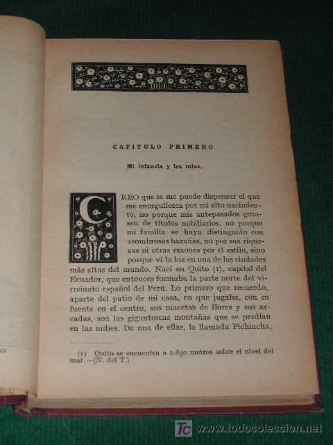 Libros antiguos: A LO LARGO DEL AMAZONAS (Tomo I) de W.H.G. KINGSTON - Foto 3 - 12275266