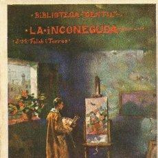 Libros antiguos: LA INCONEGUDA - J.M. FOLCH I TORRES - 1927. Lote 25757458