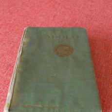 Libros antiguos: APOLO. HISTORIA GENERAL DE LAS ARTES PLÁSTICAS / SALOMON REINACH. Lote 25806350