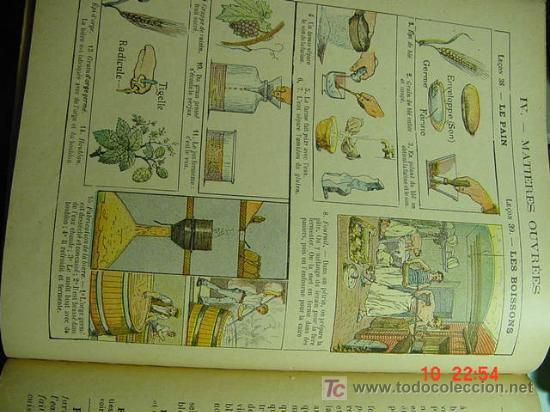 Libros antiguos: 574 FRANCIA FRANCE LIBRO DE TEXTO LES SCIENCES LAS CIENCIAS 1923 C&C - Foto 2 - 5719287