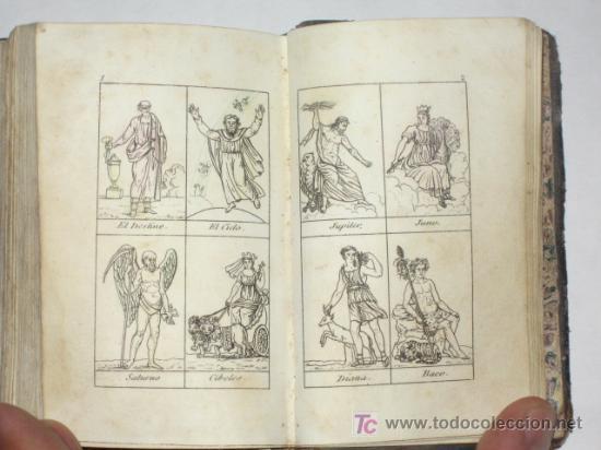 Libros antiguos: Diccionario Manual de la Fábula, en forma de historia, adornado de 16 estampas. Imp. Sancha. 1828 - Foto 4 - 25355290