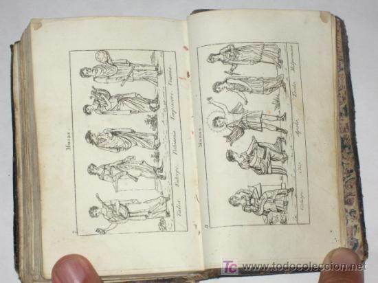 Libros antiguos: Diccionario Manual de la Fábula, en forma de historia, adornado de 16 estampas. Imp. Sancha. 1828 - Foto 6 - 25355290