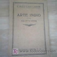 Libros antiguos: ARTE ÍNDIO . OTTO HOVER. Lote 9244145