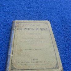 Libros antiguos: GEOGRAPHIE DES CINQ PARTIES DU MONDE / E. CORTAMBERT 1880. Lote 27241444