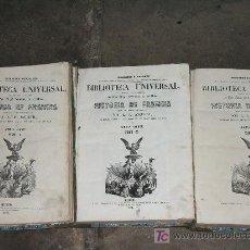 Libros antiguos: BIBLIOTECA UNIVERSAL; HISTORIA DE FRANCIA, AÑO 1851.. Lote 26281655