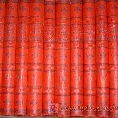Libros antiguos: HISTORIA UNIVERSAL DE CESAR CANTÚ 12 TOMOS EDICIÓN ÚNICA. Lote 26701613