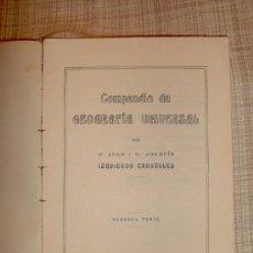 Libros antiguos: ATLAS. EUROPA , CONTINENTES Y OCÉANOS.. Lote 24979539