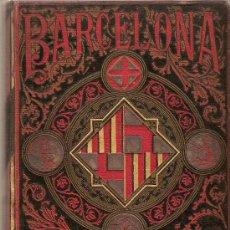 Libros antiguos: BARCELONA Y SU PROVINCIA. GUIA ITINERARIO DESCRIPTIVA, ESTADISTICA Y PINTORESCA / M. MARTI DE SOLA.. Lote 27397823