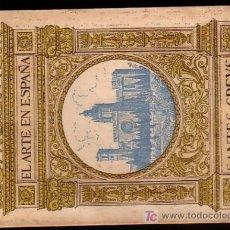 Alte Bücher - Monasterio SANTES CREUS ( Tarragona ) * 48 fotografias *circa 1915 * Antiguo Libro Fotografico - 24298525