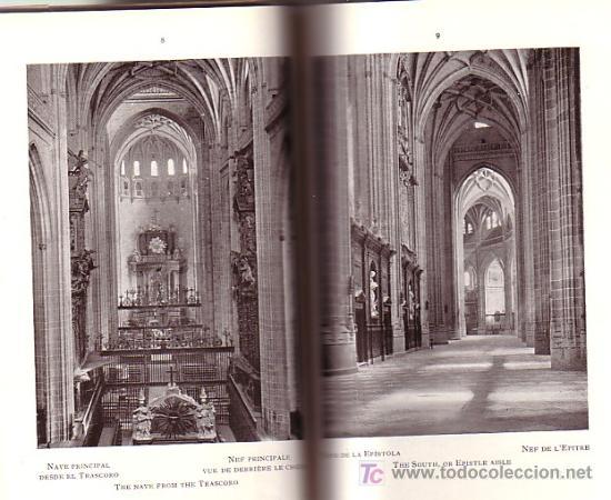 Libros antiguos: MONASTERIO de EL ESCORIAL ( Tomo 1 ) * 48 fotografias * circa 1915 * - Foto 3 - 24350747