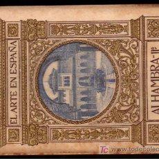 Alte Bücher - zx LA ALHAMBRA de GRANADA ( Tomo 2º ) * 48 fotografias * circa 1915 * - 24257761