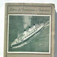 Libros antiguos: LA NAVEGACIÓN (1937). Lote 26287538