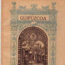 Libros antiguos: MONUMENTOS RELIGIOSOS DE GUIPUZCOA - 1921. Lote 25399774