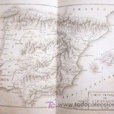 Libros antiguos: MAPAS GRABADOS ESPAÑA LABORDE A. . ATLAS DE L'ITINERAIRE DESCRIPTIF DE L'ESPAGNE. 29 GRABADOS. Lote 26501733