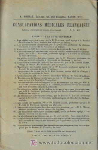 Libros antiguos: CONSULTATIONS MEDICALES FRANCAISES. FASCÍCULO 47. LA CURA DE RECALCIFICACION. - Foto 2 - 12850895