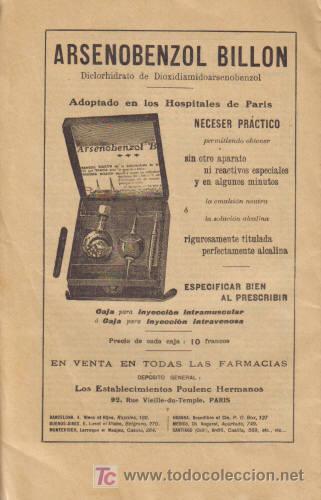 Libros antiguos: REVISTA MÉDICA. MONDE MEDICAL. AÑO XXIV, 25 DE AGOSTO DE 1912, Nº 402. - Foto 2 - 12435728