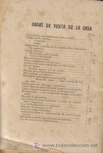 Libros antiguos: REVISTA MÉDICA. LEY DE SANIDAD CON LA INSTRUCCIÓN GENERAL DE SANIDAD PÚBLICA DE 14 DE JULIO DE 1903. - Foto 2 - 12435732
