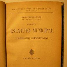 Libros antiguos: REAL DECRETO-LEY, 1924. Lote 25814771