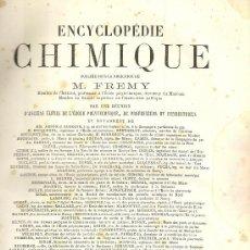 Libros antiguos: ANALYSE CHIMIQUE DES VEGETAUX. DRAGENDORFF ET SCHLAGDENHAUFFEN, 1885. Lote 22115394
