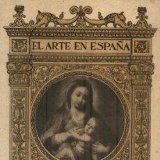 Libros antiguos: MUSEO DE LAS BELLAS ARTES DE CADIZ. EL ARTE EN ESPAÑA. (A/ CA- 349). Lote 14387756