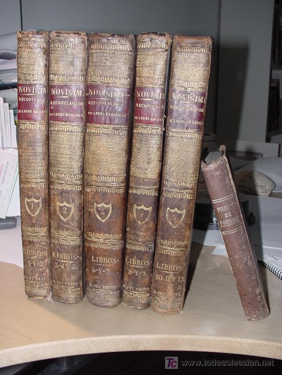 Libros antiguos: AÑO 1805.- LAS LEYES DE ESPAÑA. MANDADA FORMAR POR CARLOS IV. ¡IMPRESIONANTE OBRA! - Foto 2 - 27139359