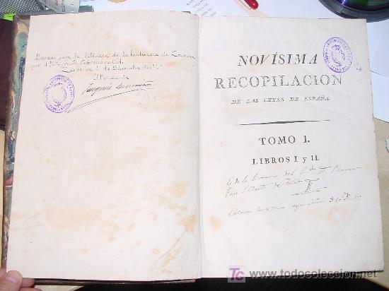 Libros antiguos: AÑO 1805.- LAS LEYES DE ESPAÑA. MANDADA FORMAR POR CARLOS IV. ¡IMPRESIONANTE OBRA! - Foto 4 - 27139359