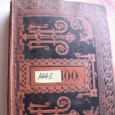 Libros antiguos: OBRAS ESCOGIDAS DE FR BENITO J FEIJOO1884. Lote 25443029