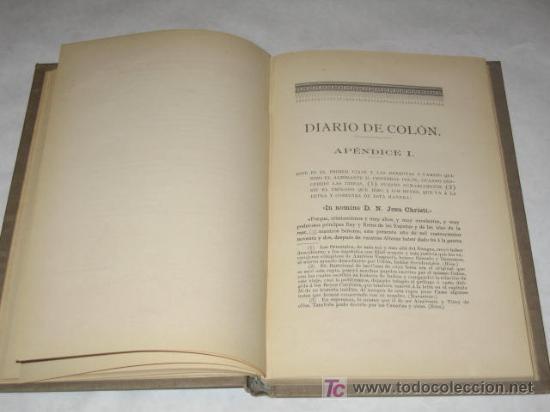 Libros antiguos: Colón y los montañeses en el descubrimiento de América, por Angel de los Ríos y Rios. Santander 1892 - Foto 3 - 23482485