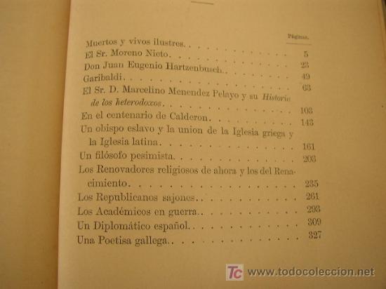 Libros antiguos: RETRATOS HISTÓRICOS- EMILIO CASTELAR-OFIC. DE LA ILUSTRACIÓN ESPAÑOLA Y AMERICANA- 1884- MAD. - Foto 5 - 20329268