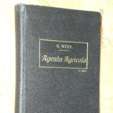 Libros antiguos: AGENDA AGRÍCOLA. Lote 13726310