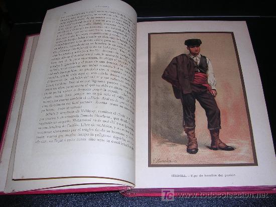 Libros antiguos: Madrazo, Pedro de , Córdoba España sus Monumentos y Artes - Su Naturaleza é Historia. - Foto 3 - 23360057