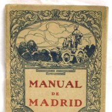 Manual de Madrid Librería Horizonte 1933