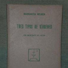 Libros antiguos: TRES TIPOS DE VÍRGENES.. Lote 22432333