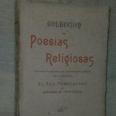Libros antiguos: COLECCIÓN DE POESÍAS RELIGIOSAS... (VARIOS AUTORES, 1905). Lote 25464683