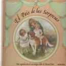 Libros antiguos: (TC-126) CURIOSO, BONITO Y RARO LIBRO DE POEMAS EL PAIS DE LAS SORPRESAS DE ERNEST NISTER. Lote 134760838