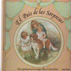 Libros antiguos: CURIOSO, BONITO Y RARO LIBRO DE POEMAS EL PAIS DE LAS SORPRESAS DE ERNEST NISTER. Lote 134760838