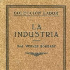 Libros antiguos: 1931 LA INDUSTRIA. Lote 26800058