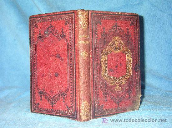 HISTORIA DE ESPAÑA - AÑO 1876 - BELLOS GRABADOS. (Libros Antiguos, Raros y Curiosos - Historia - Otros)