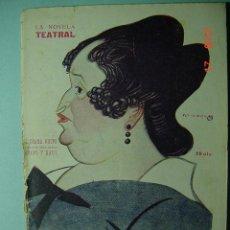 Libros antiguos: 1286 LA NOVELA TEATRAL - EL DRAMA NUEVO - TAMAYO Y BAUS- AÑO 1917 Nº 136 MAS EN COSAS&CURIOSAS. Lote 5727235