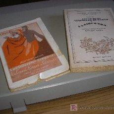 Libros antiguos: LOS INTERESES CREADOS (JACINTO BENAVENTE),SUEÑO DE UN ATARDECER DE OTOÑO(GABRIEL D'ANNUNZIO). Lote 26056882