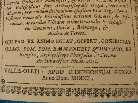 Libros antiguos: 1750. PROLUSIO ACADEMICA, SACRO-PROFANA DE HOMINUM PRINCIPATU ET PRAEFACTURA. - Foto 2 - 26696058